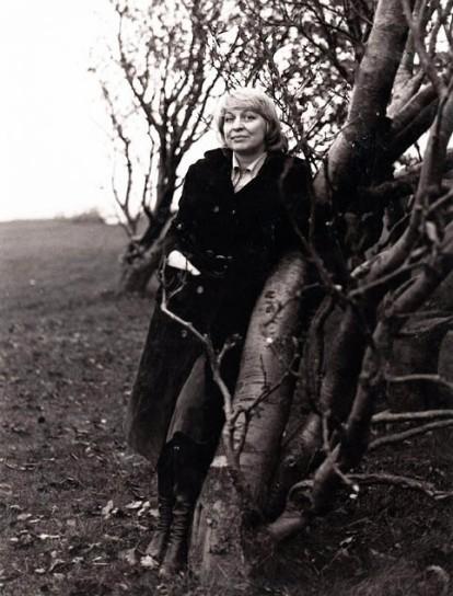 Jenny Bertyheliuis på 70-talet bruntonad bw liten skarpad